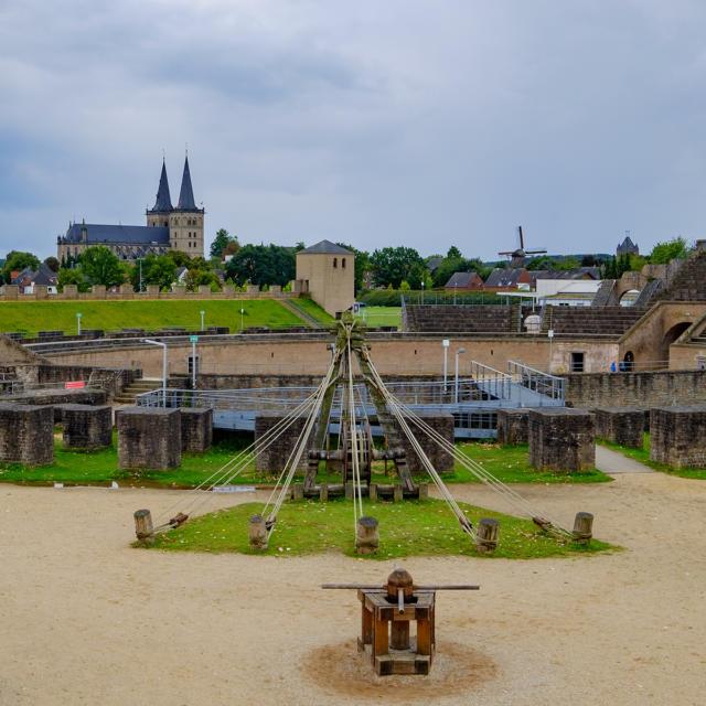 Ville jumelle - Xanten, Allemagne - Amphithéâtre de Xanten