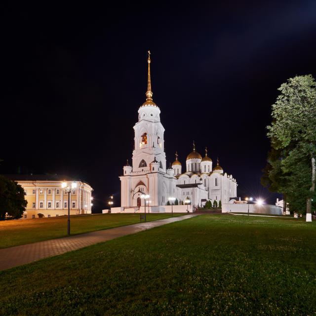 Ville jumelle - Vladimir Russie - Cathédrale Uspensky