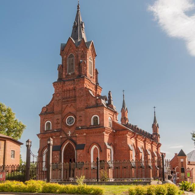 Ville jumelle - Vladimir Russie - Eglise catholique