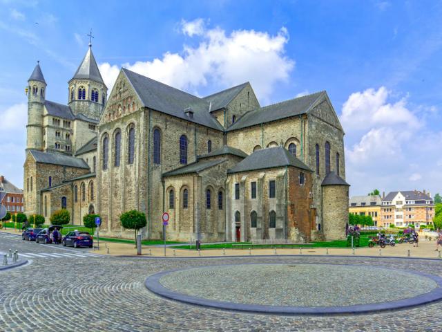 Ville jumelle - Nivelles Belgique - Église collégiale de Saint-Gertrude