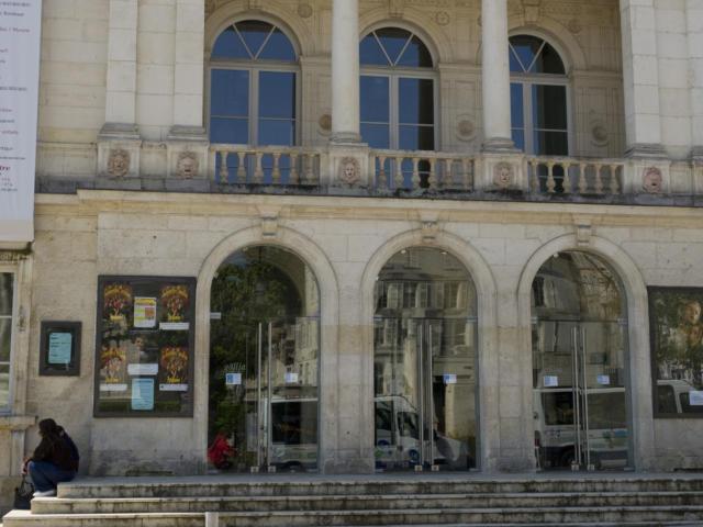 Théâtre Le Gallia vue extérieure de face