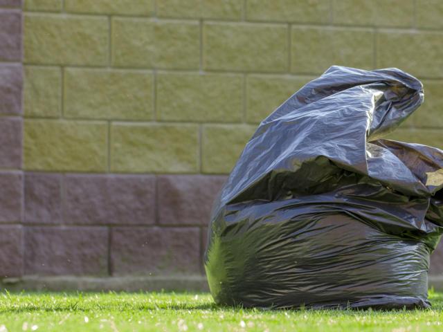 Propreté sac poubelle