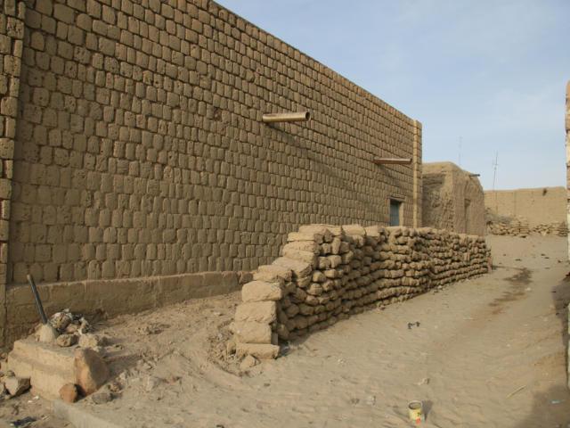 Ville jumelle - Tombouctou, Mali - Ruelle tombouctienne