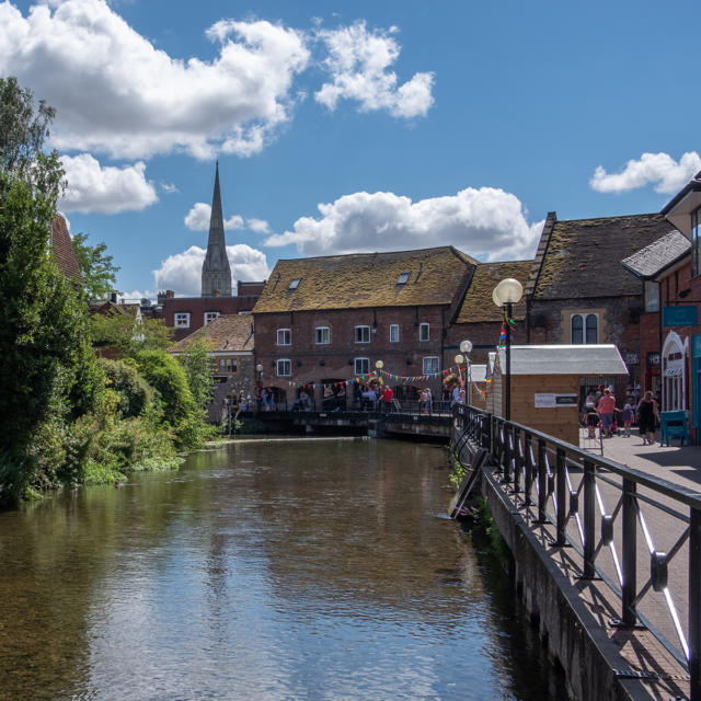 Ville jumelle - Salisbury Royaume-Uni - Vieille ville
