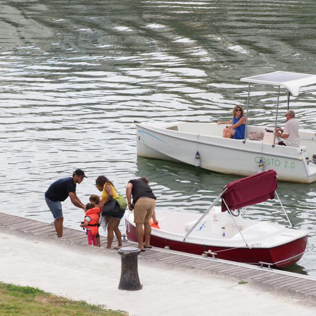 Location petit bateau pour balade sur la charente