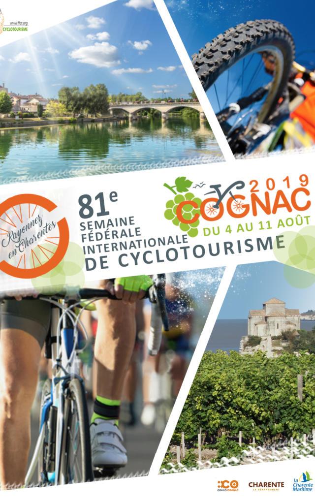 Affiche semaine cyclotourisme 2019
