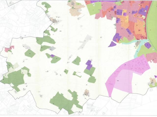 PLU - Plan De Zonage Sud
