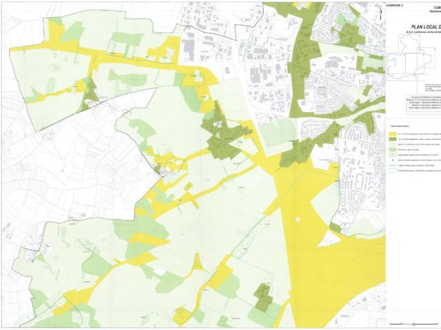 PLU - Trame Verte Et Bleue Ouest