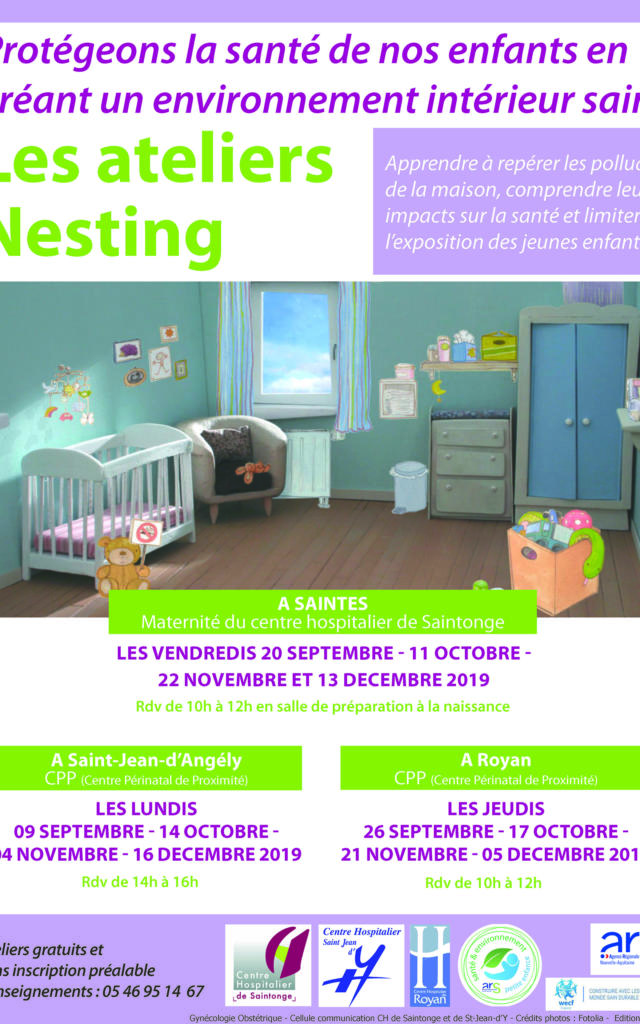 Affiche Ateliers Nesting Septembre Octobre Novembre Decembre 2019