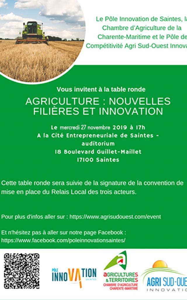 Agriculture Nouvelles Filières Et Innovation