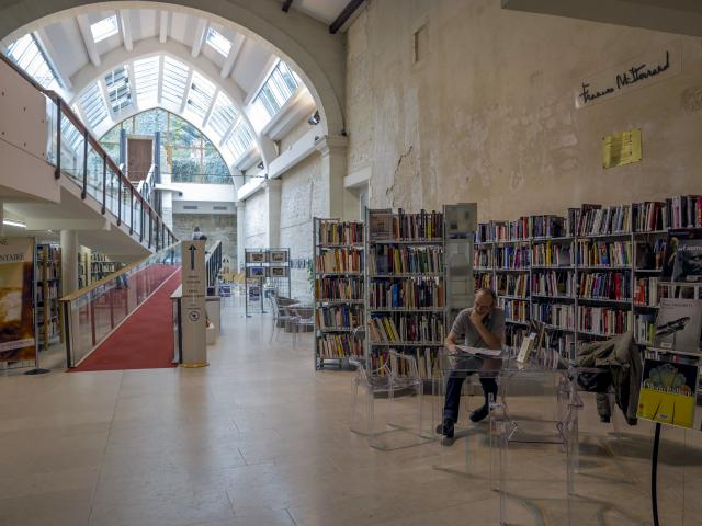 Médiathèque Saintes François Mitterrand