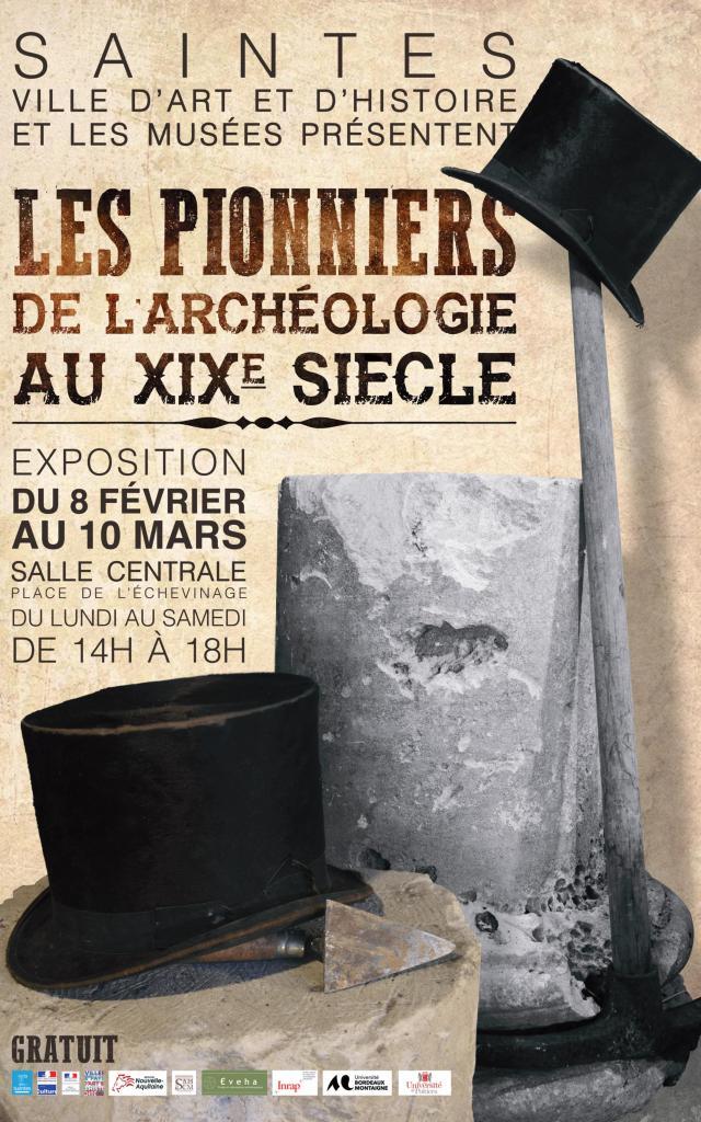 Affiche Pionniers De L'archéologie