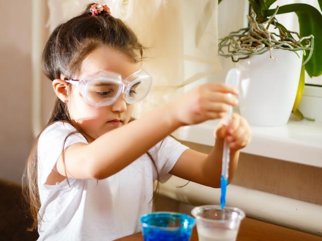 Expériences scientifiques enfants