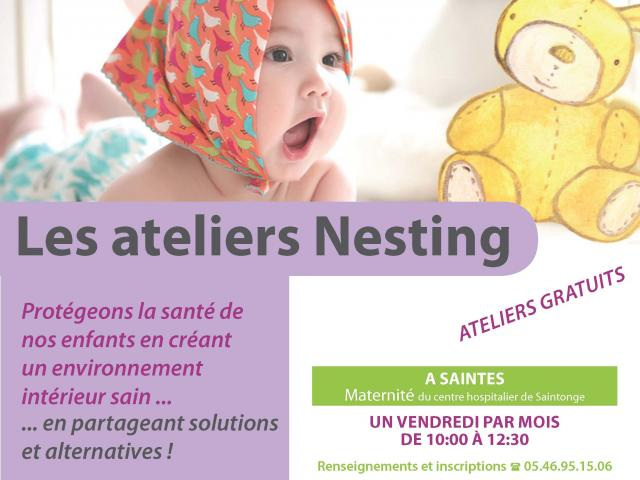 Affiche Ateliers Nesting 2020