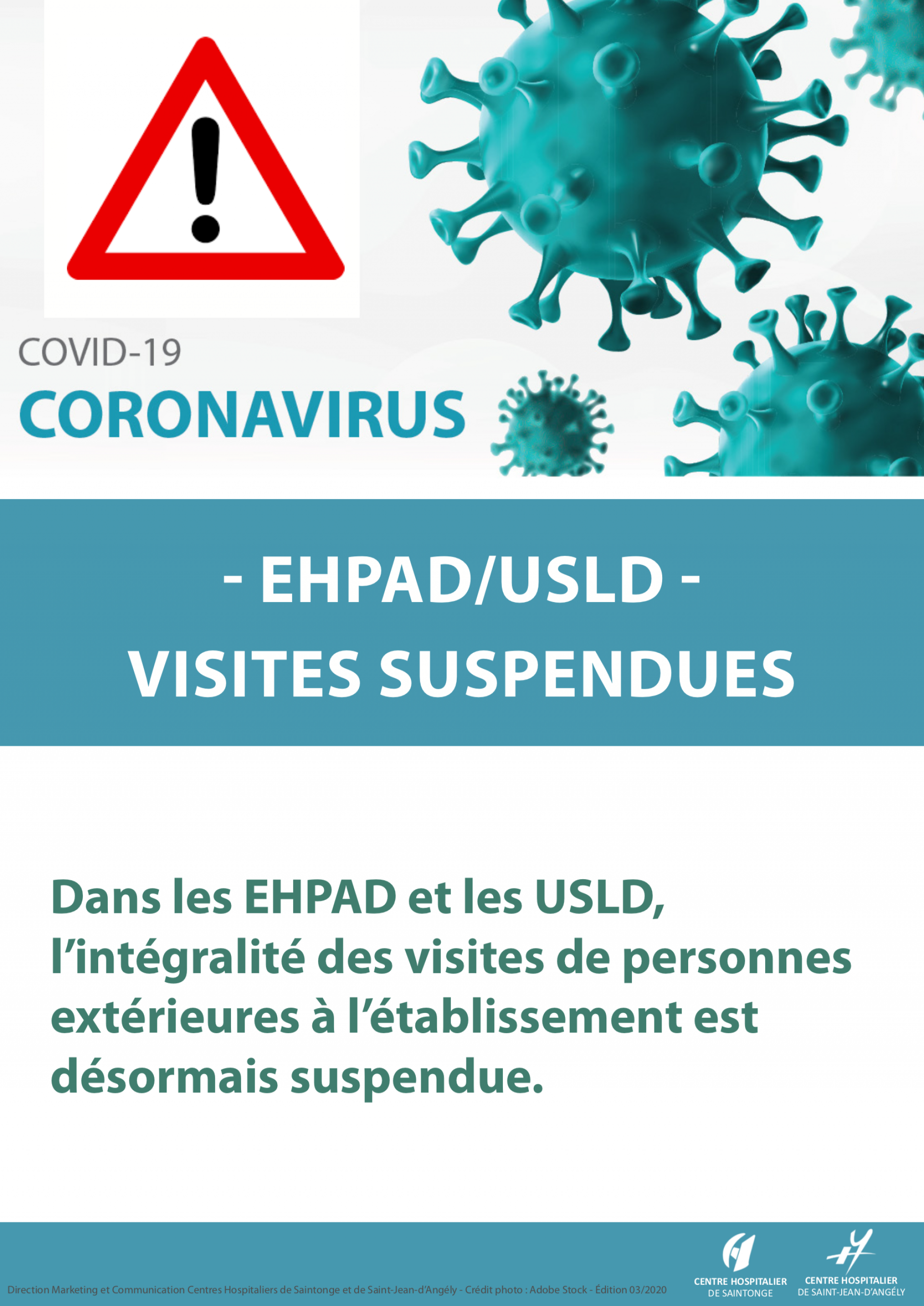 Coronavirus Fermeture Ehpad