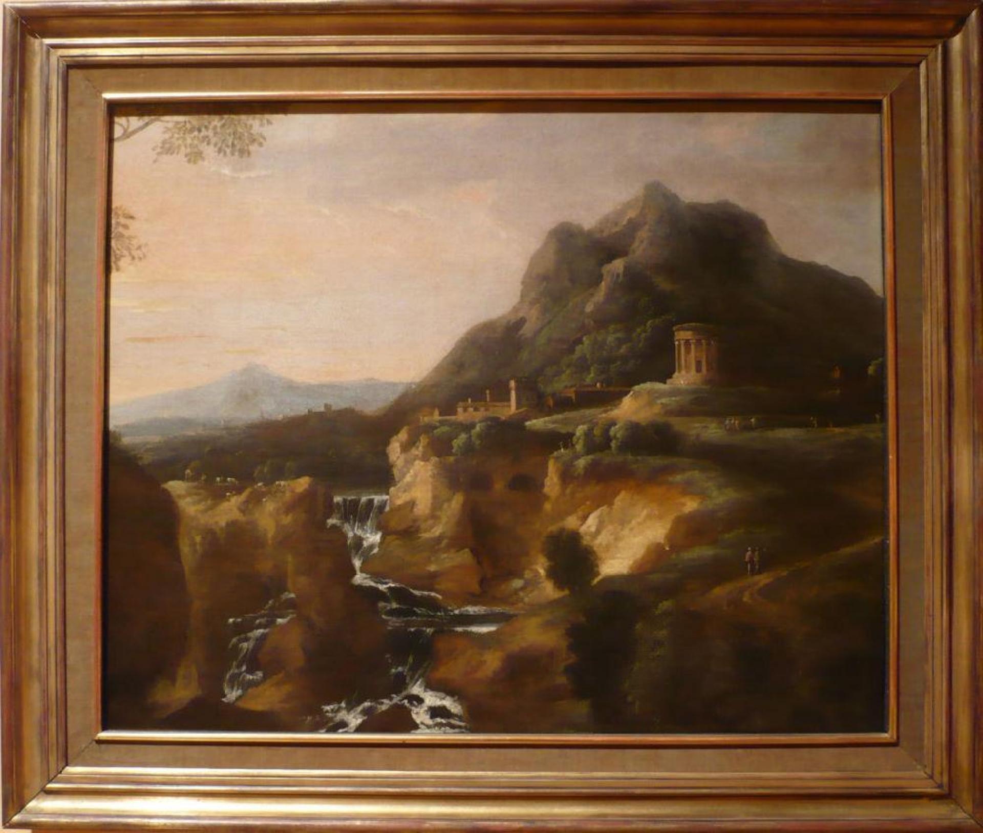Tableau Cascade De Tivoli