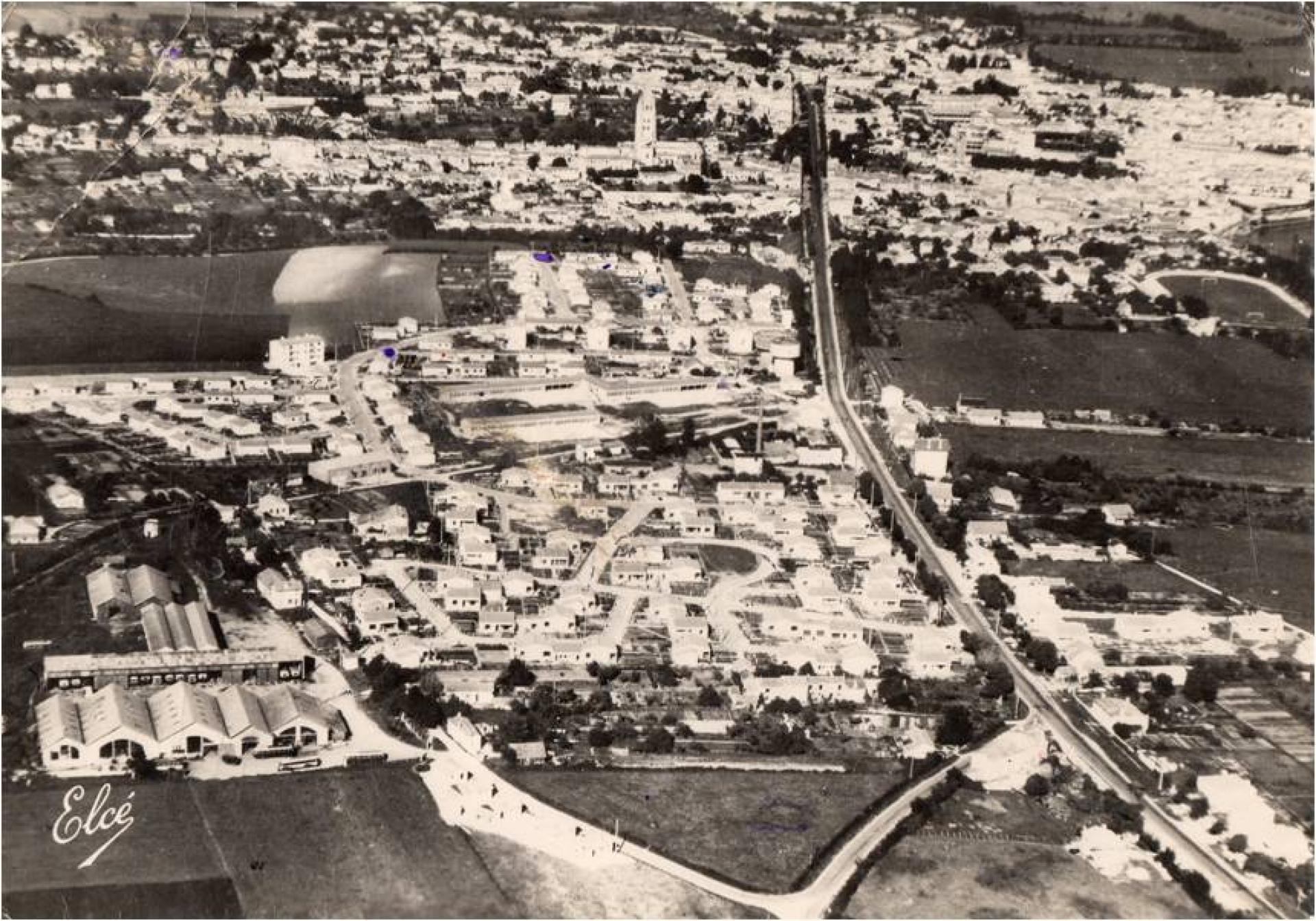 Les Quartiers Sud Fin Des Années 1950