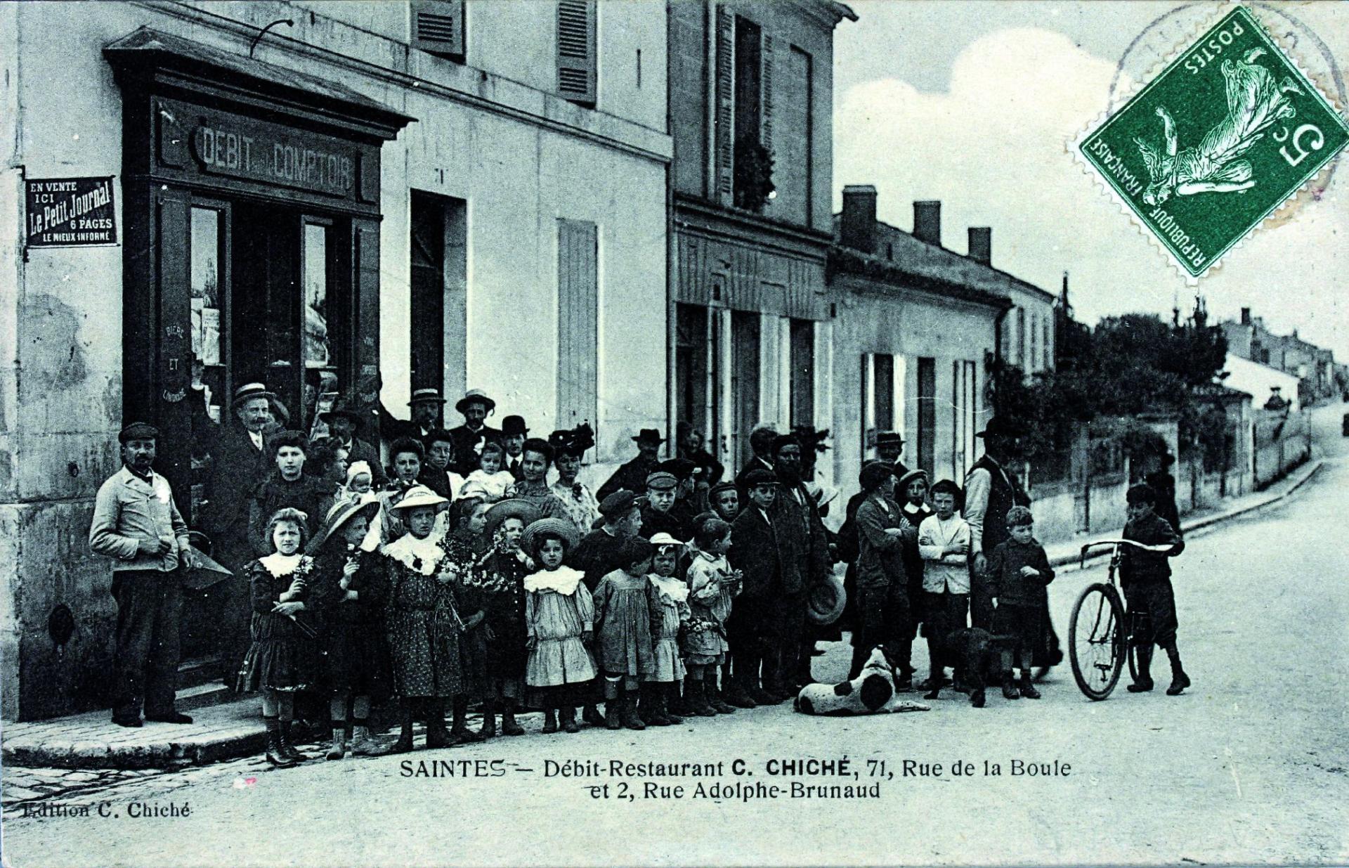 Le Restaurant Chiché Rue De La Boule Au Début Du Xxe Siècle