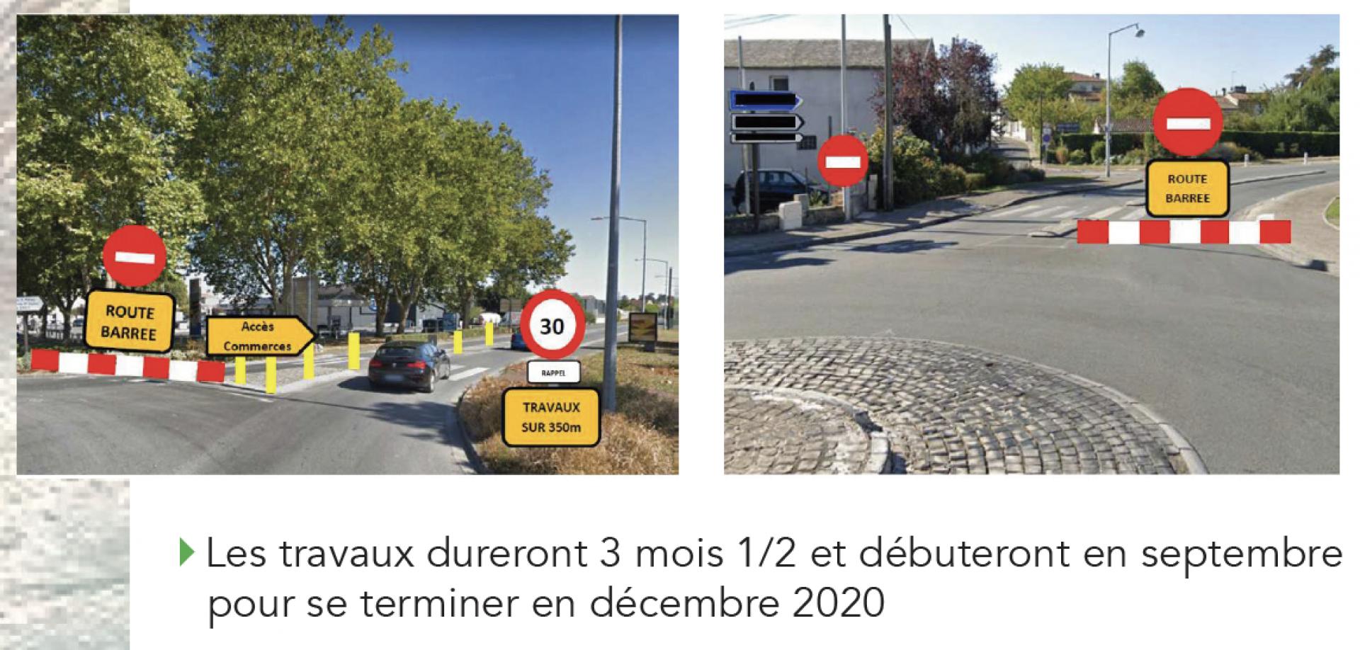 Travaux Avenue De Saintonge 2