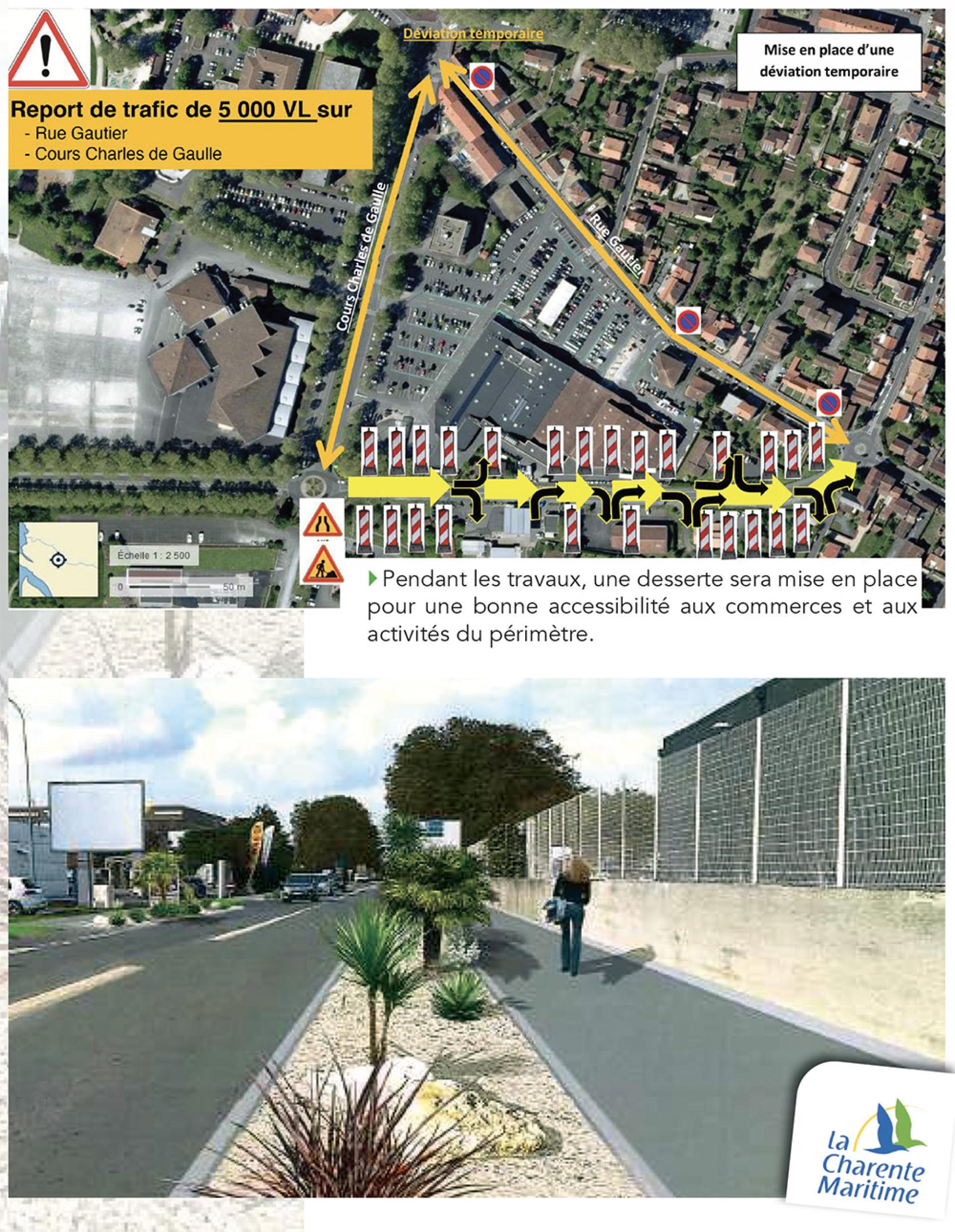 Travaux Avenue De Saintonge 3