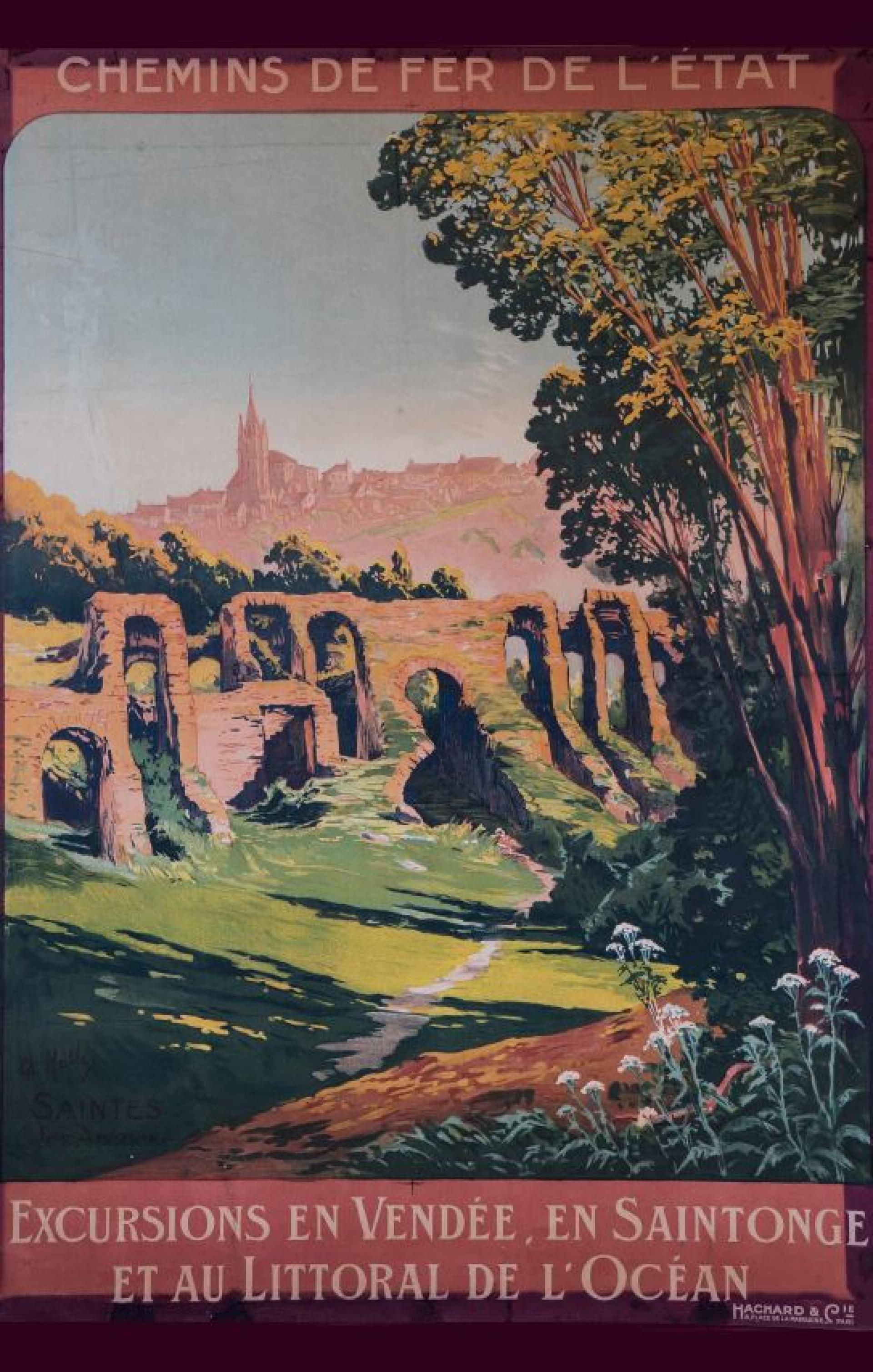 Affiche Publicitaire Amphi
