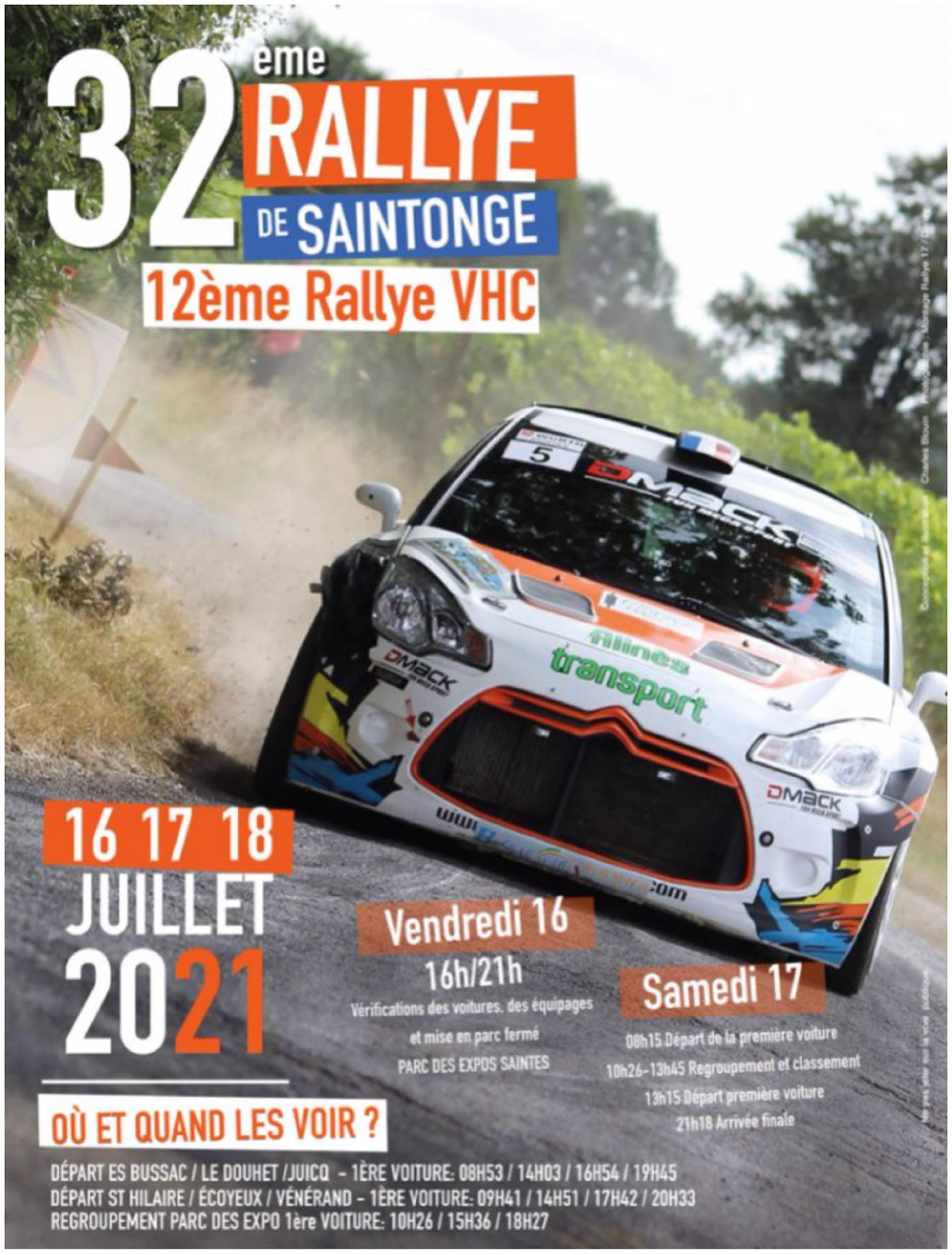 Rallye De Saintonge 2021