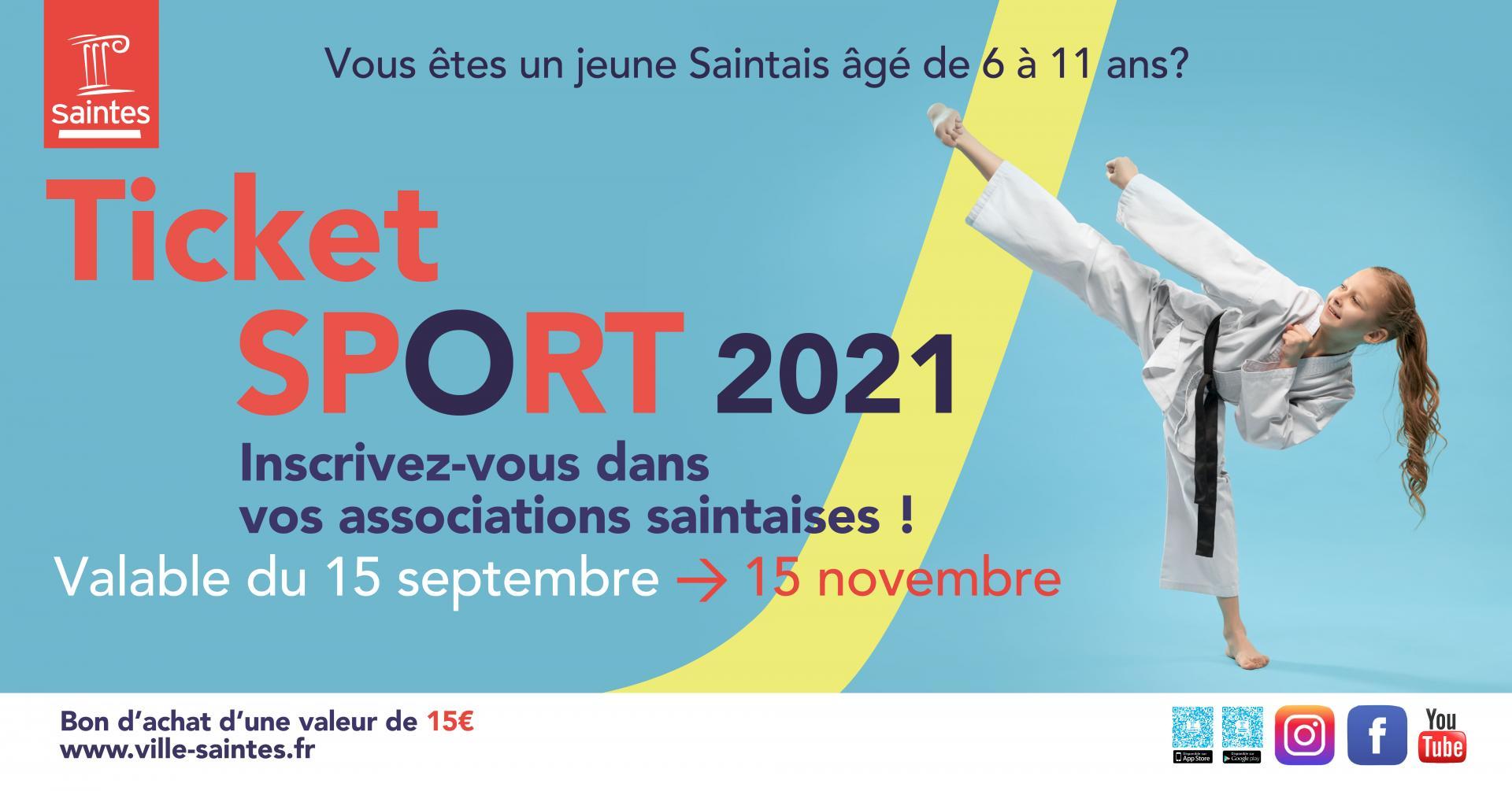 Ticket sport 2021